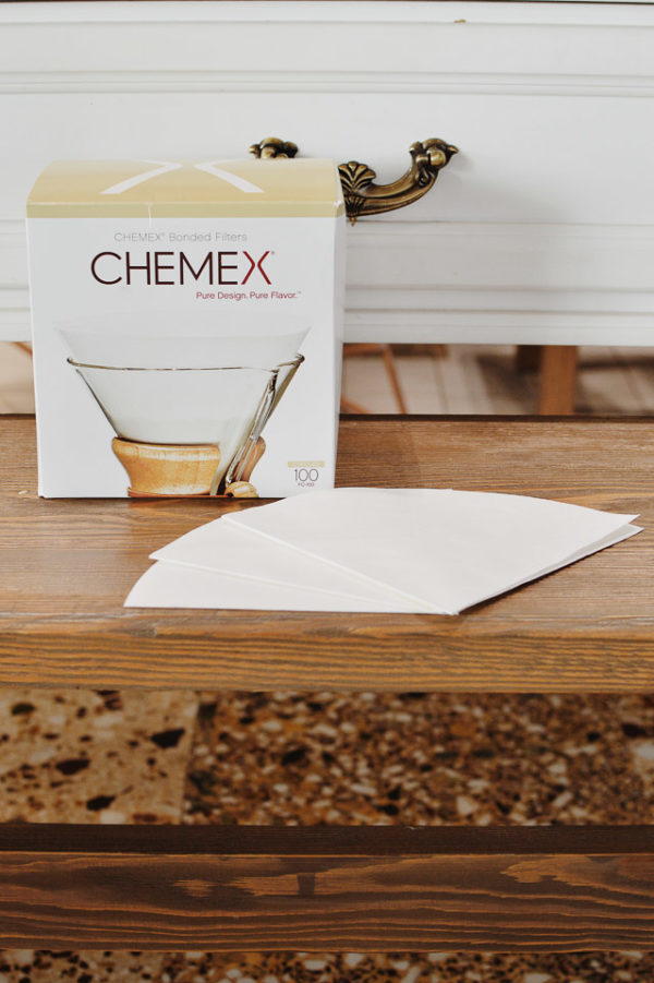 """Chemex Bonded Filters Pre-folded Circles"""