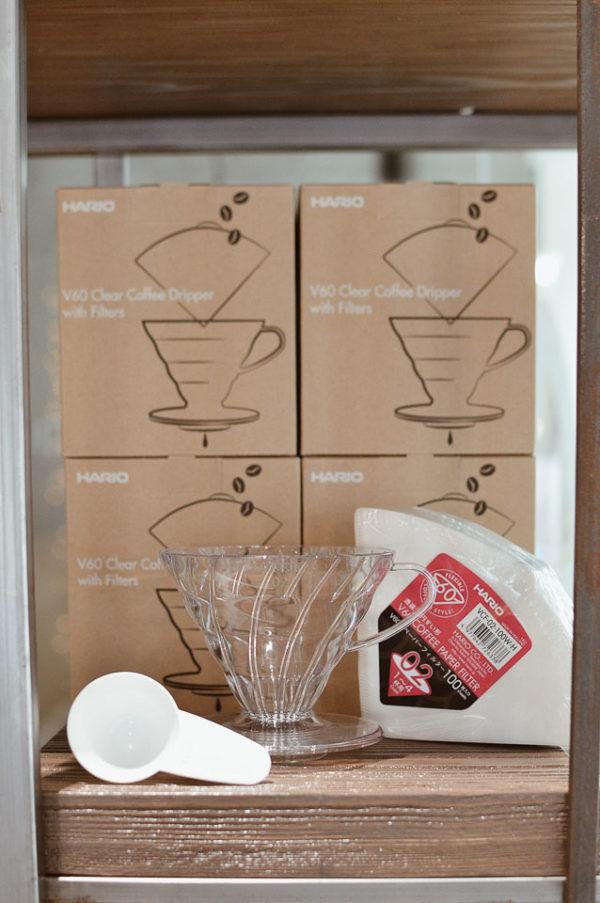 V60 Clear Coffee Dripper