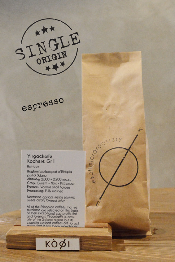 Coffee single origin