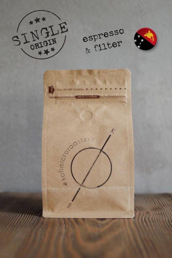 kofi single origin espresso Papua New Guinea