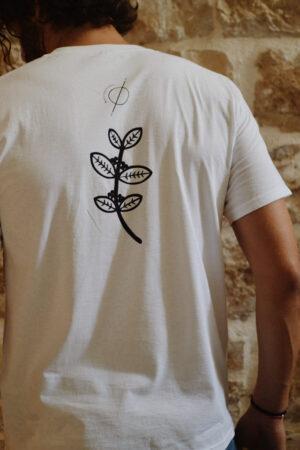 T-shirt white chemex