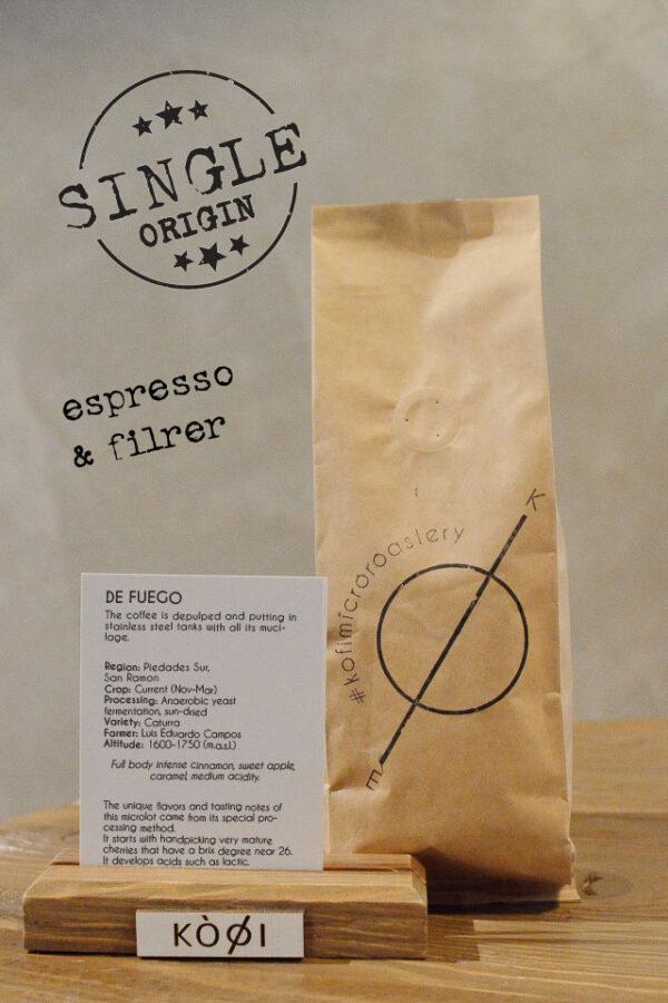 espresso & filter bag